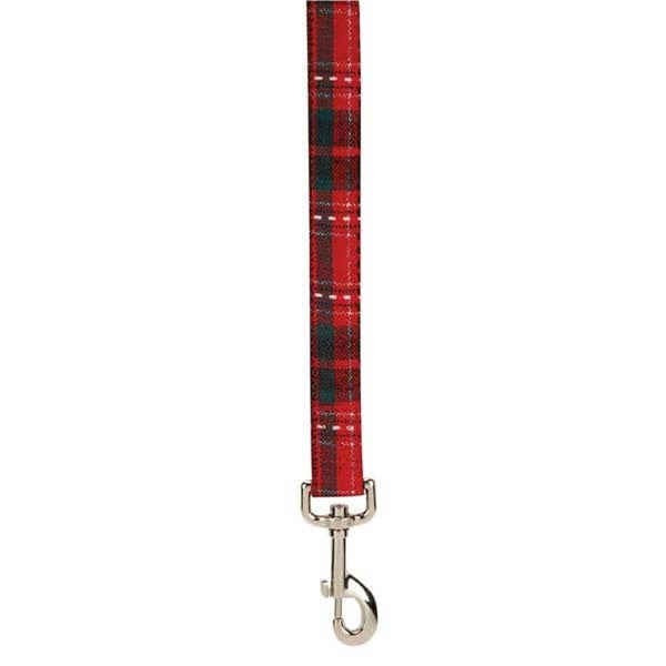 East Side Collection Yuletide Tartan Pet Dog Lead by Pet Edge