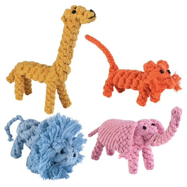 Zanies Rope Menagerie Pet Dog Toy by Pet Edge