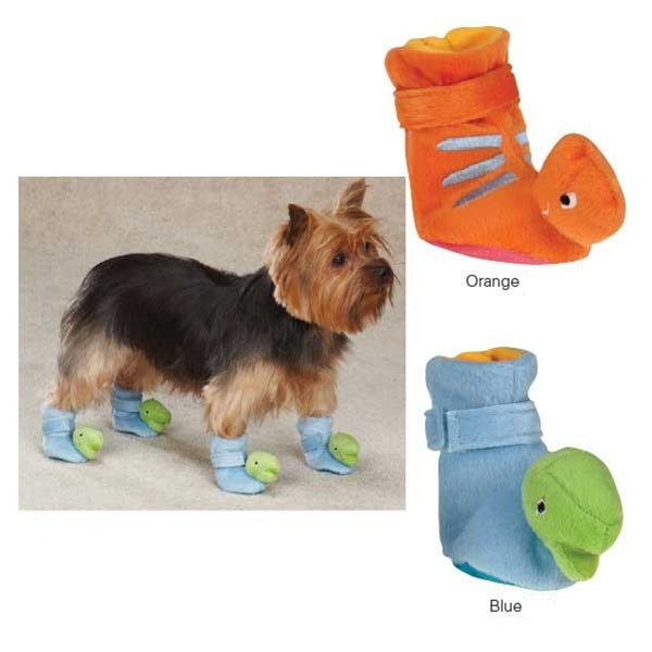 Dino Pet Dog Slippers by Pet Edge