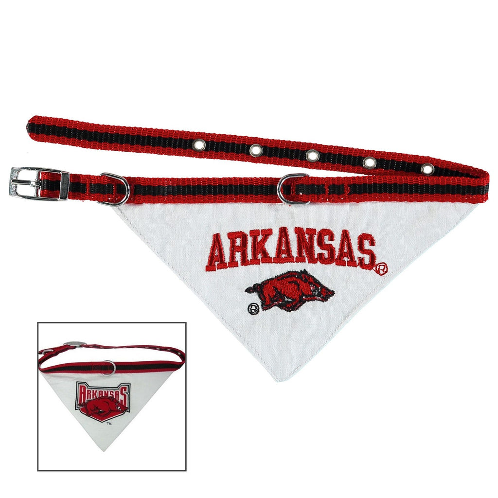 Arkansas Pet Dog Collar Pet Dog Bandana by Pets First