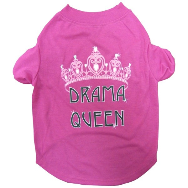 Drama Queen Pet Dog T-Shirt by Pets First