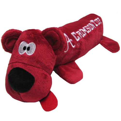 Alabama Crimson Tide Plush Tube Pet Dog Toy by Pets First