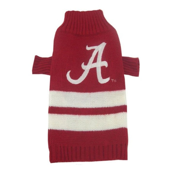 Alabama Crimson Tide Pet Dog Sweater by Pets First