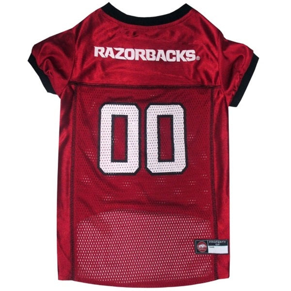 Arkansas Razorbacks Pet Dog Jersey by Pets First