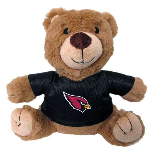 Arizona Cardinals Teddy Bear Pet Dog Toy by Pets First