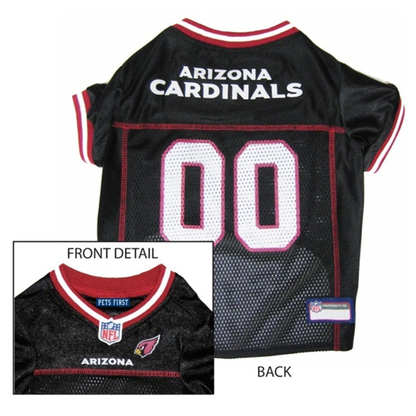 Arizona Cardinals Pet Dog Jersey by Pets First