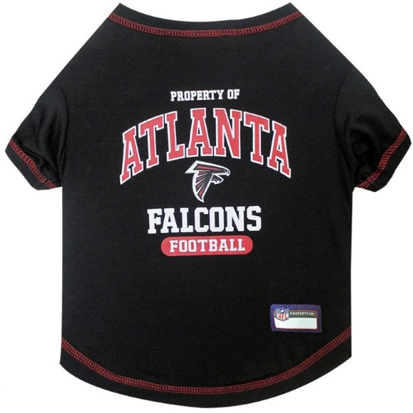 Atlanta Falcons Pet Dog T-Shirt by Pets First