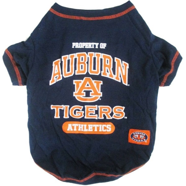 Auburn Tigers Pet Dog Tee Shirt by Pets First