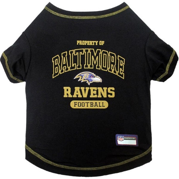 Baltimore Ravens Pet Dog T-Shirt by Pets First