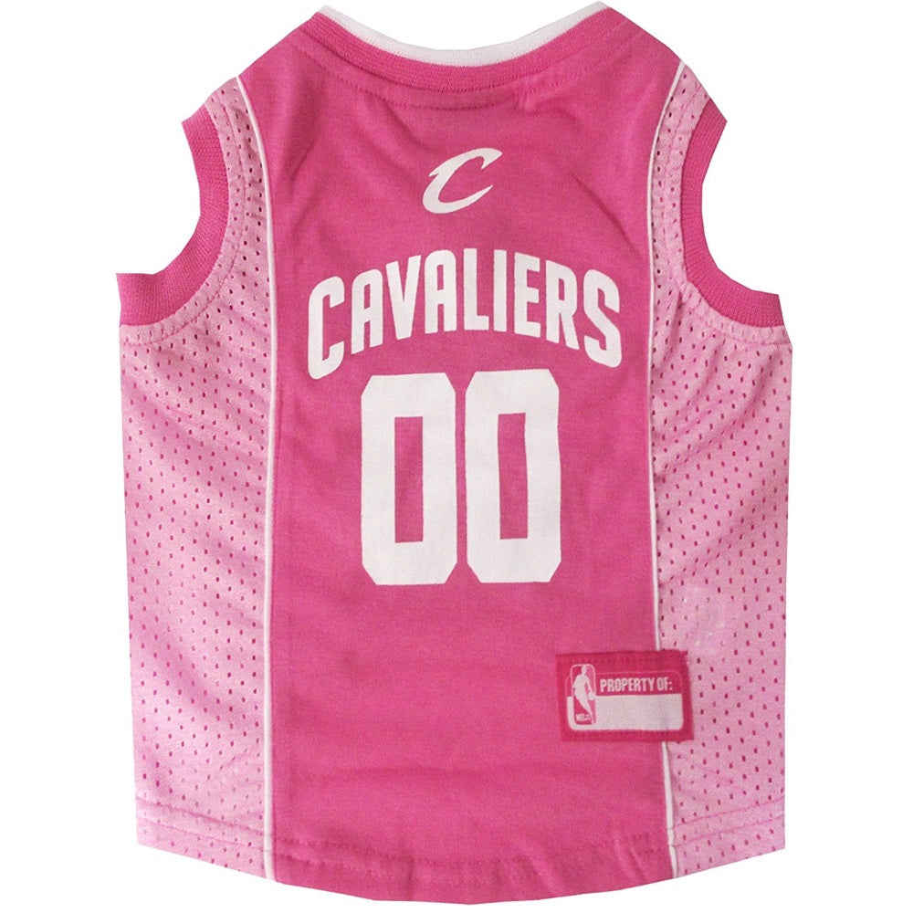 Cleveland Cavaliers Pink Pet Dog Jersey by Pets First