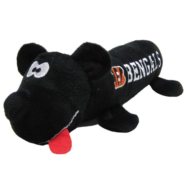 Cincinnati Bengals Plush Tube Pet Dog Toy by Pets First