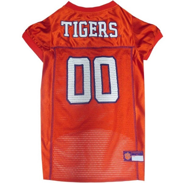 Clemson Tigers Pet Dog Jersey by Pets First