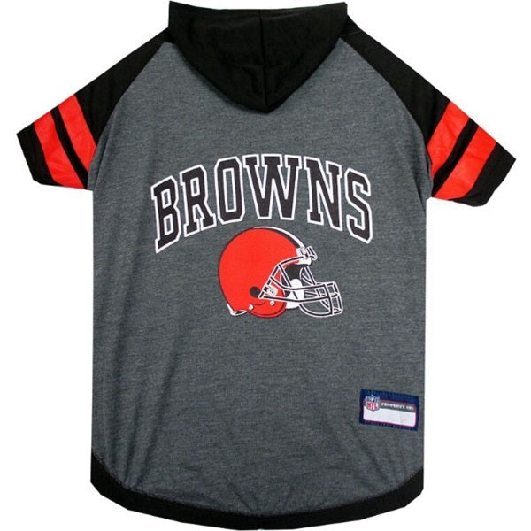 Cleveland Browns Pet Dog Hoodie T-Shirt by Pets First