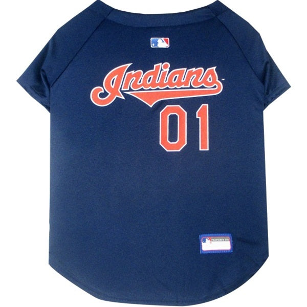 Cleveland Indians Pet Dog Jersey by Pets First