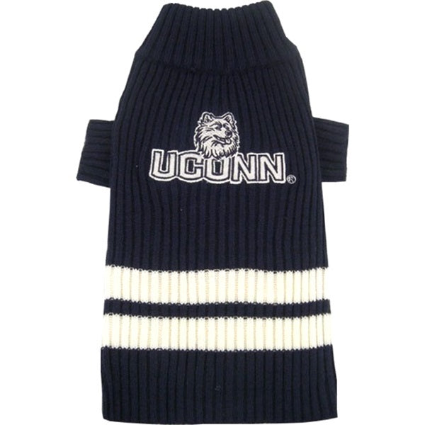 UConn Huskies Pet Dog Sweater by Pets First