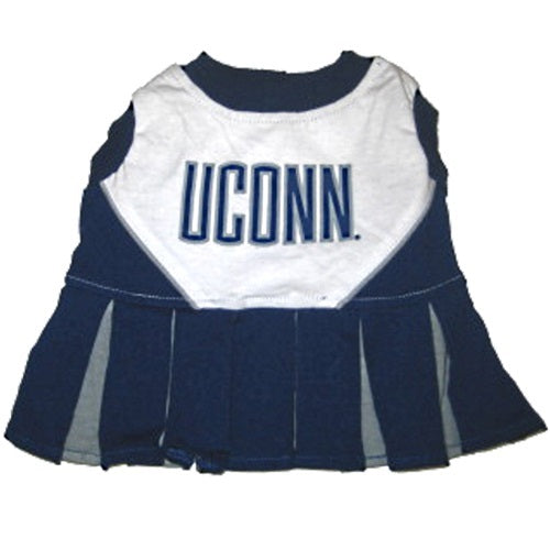 UConn Huskies Cheerleader Pet Dog Dress by Pets First