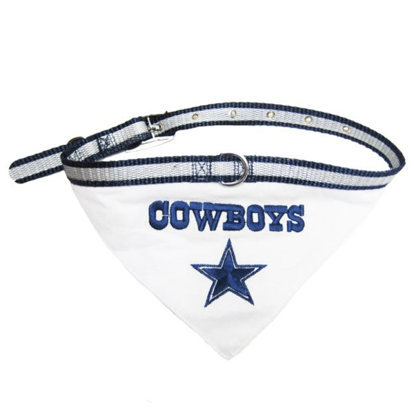 Dallas Cowboys Pet Dog Collar Bandana by Pets First