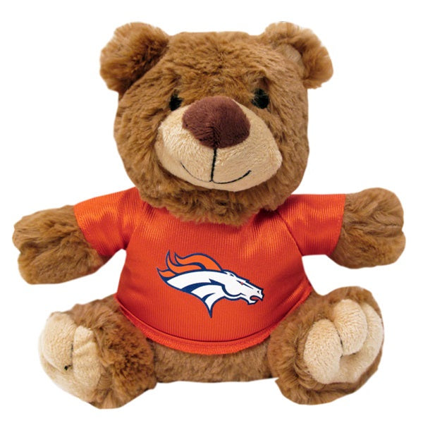 Denver Broncos Teddy Bear Pet Dog Toy by Pets First