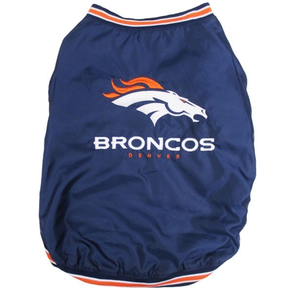 Denver Broncos Pet Dog Sideline Jacket by Pets First