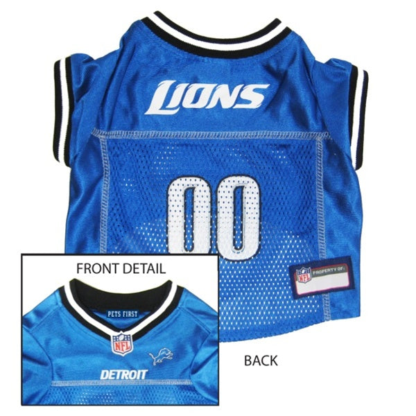 Detroit Lions Pet Dog Jersey by Pets First