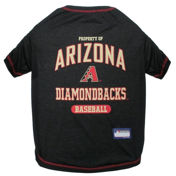 Arizona Diamondbacks Pet Dog T-Shirt by Pets First