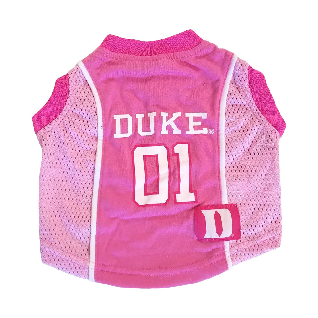 CLEARANCE Duke Blue Devils Pet Dog Pink Jersey by Pets First