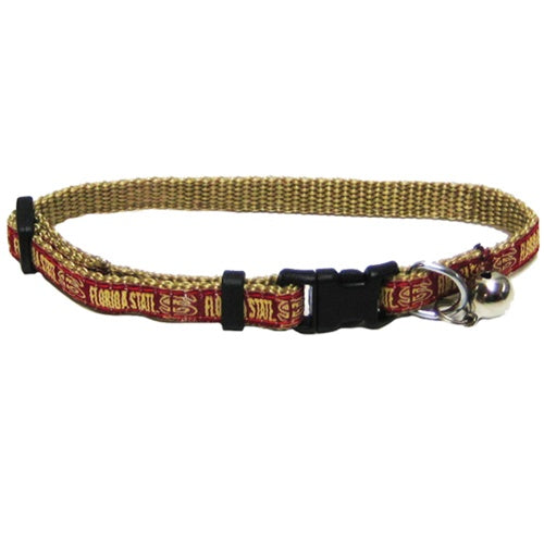 Florida State Seminoles Seminoles Breakaway Pet Cat Collar by Pets First