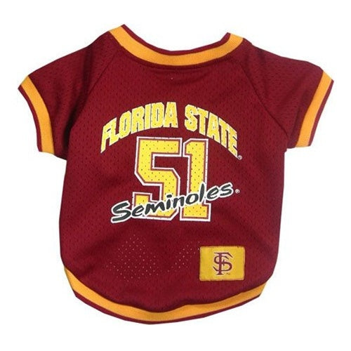 Florida State Seminoles Seminoles Pet Dog Jersey by Pets First
