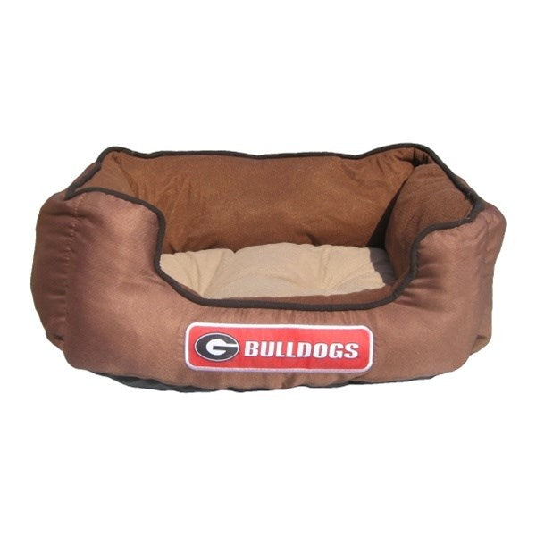 Georgia Bulldogs Pet Dog Bed by Pets First