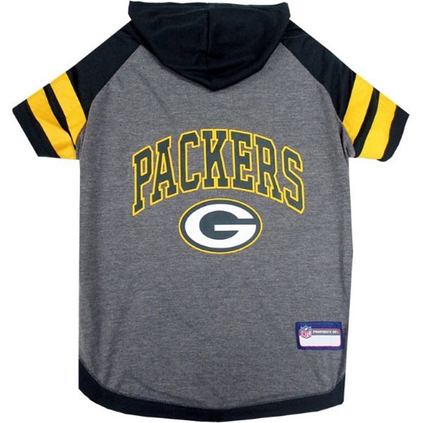 Green Bay Packers Pet Dog Hoodie T-Shirt by Pets First