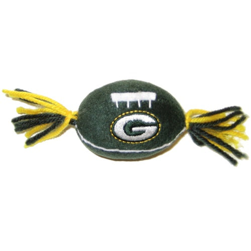 Green Bay Packers Pet Catnip Toy by Pets First