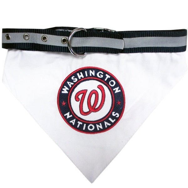 Washington Nationals Pet Dog Collar Bandana by Pets First