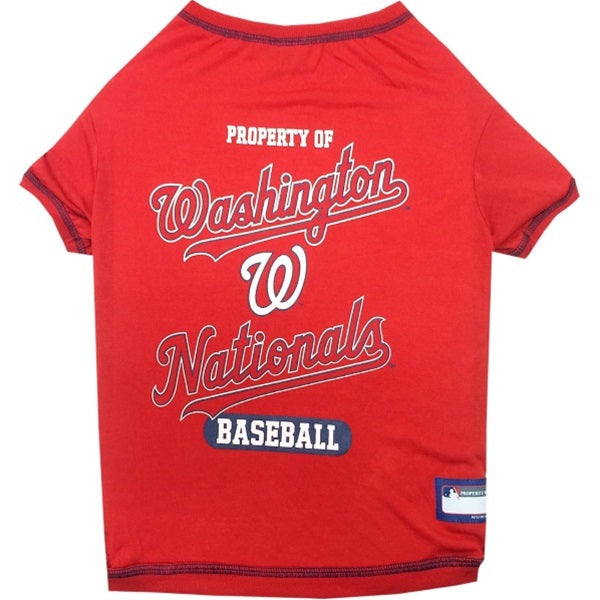 Washington Nationals Pet Dog T-Shirt by Pets First