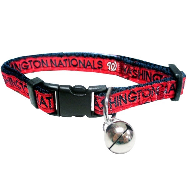 Washington Nationals Breakaway Pet Cat Collar by Pets First
