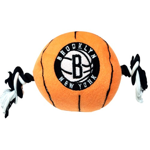 Brooklyn Nets Basketball Pet Dog Toy by Pets First