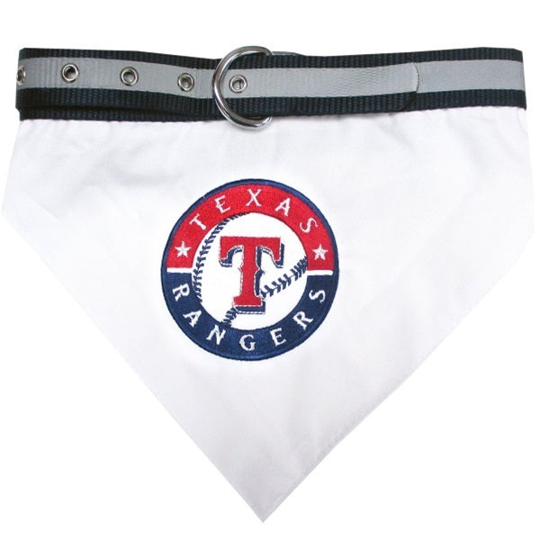 Texas Rangers Pet Dog Collar Bandana by Pets First