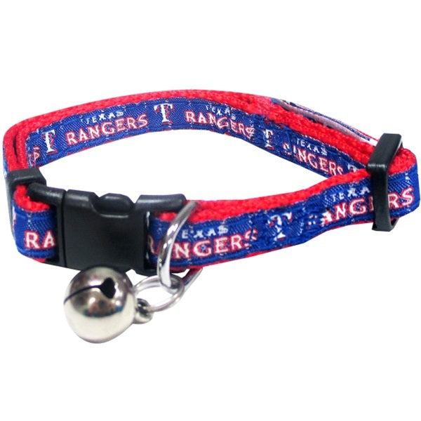 Texas Rangers Breakaway Pet Cat Collar by Pets First