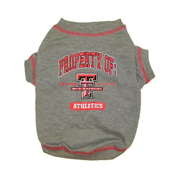 Texas Tech Red Raiders Red Raiders Pet Dog T-Shirt by Pets First