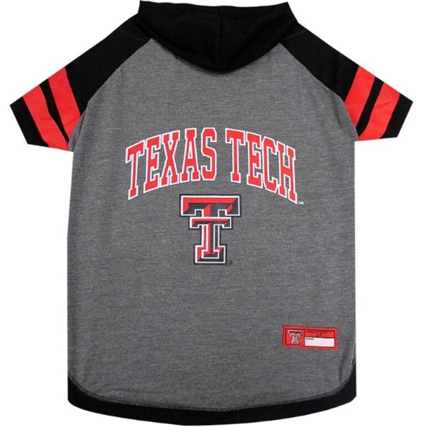 Texas Tech Red Raiders Red Raiders Pet Dog Hoodie T-Shirt by Pets First