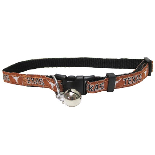 Texas Longhorns Breakaway Pet Cat Collar by Pets First