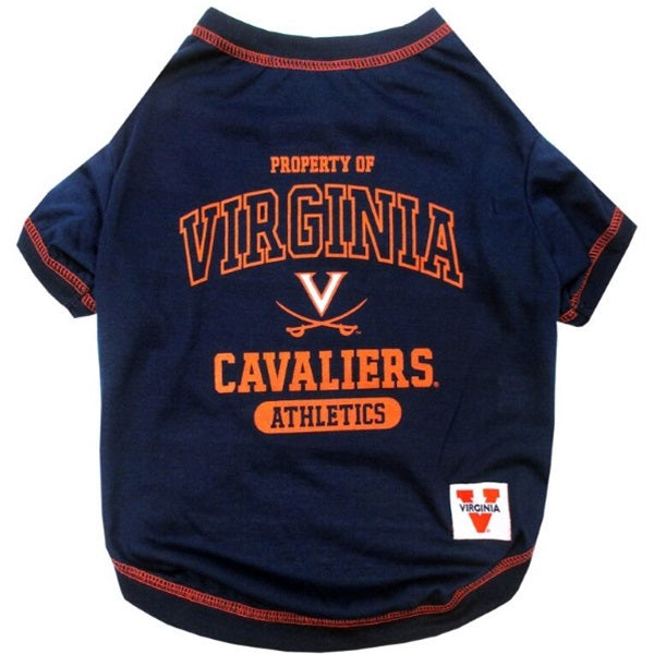 Virginia Cavaliers Pet Dog Tee Shirt by Pets First