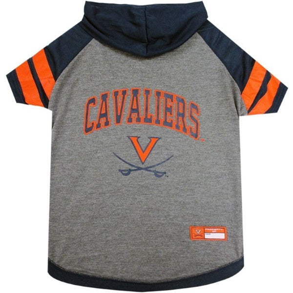 Virginia Cavaliers Pet Dog Hoodie T-Shirt by Pets First