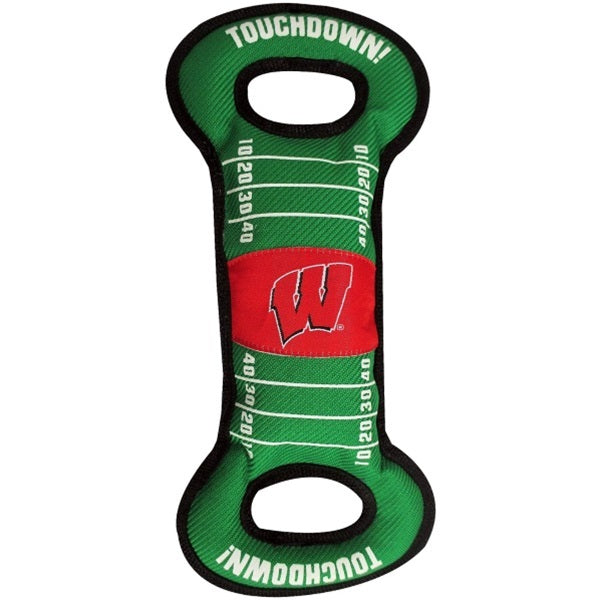 Wisconsin Badgers Field Pull Pet Dog Toy by Pets First