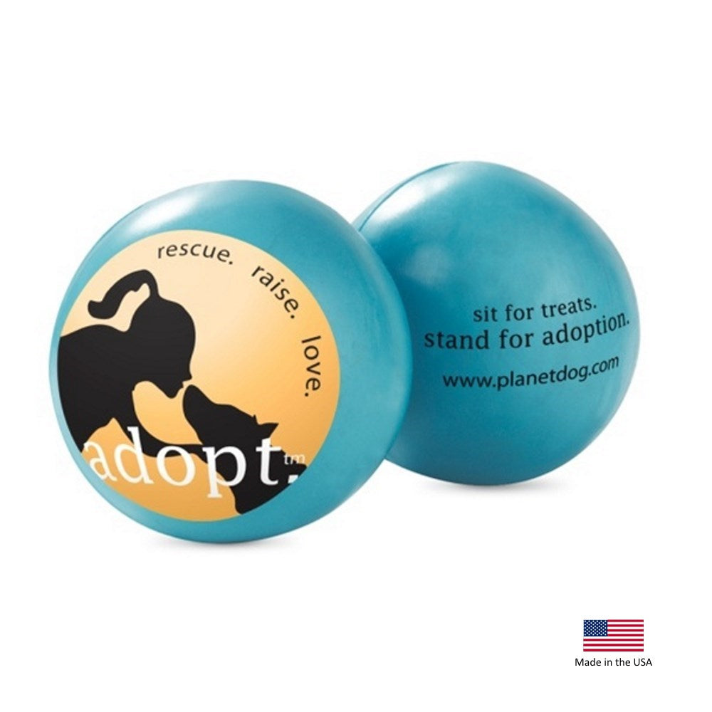 Orbee-Tuff'ΠAdopt Ball Pet Dog Toy by Planet Dog