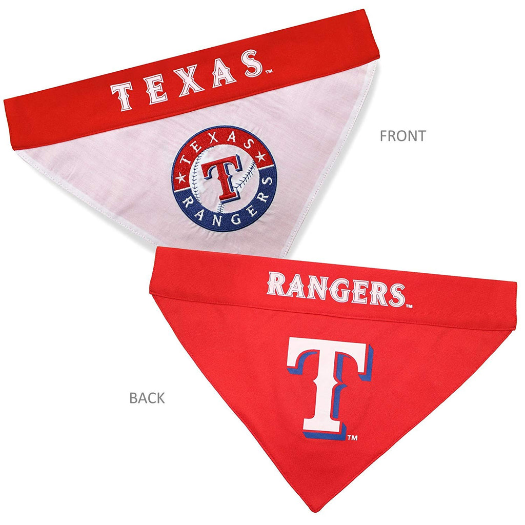 Texas Rangers Pet Dog Reversible Bandana by Pets First