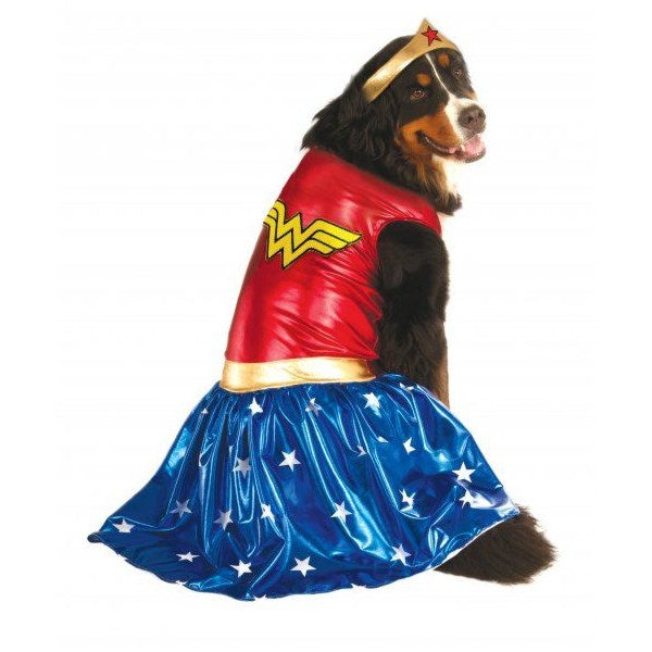Big Dogs Wonder Woman Pet Dog Costume by Rubie's Costume Co