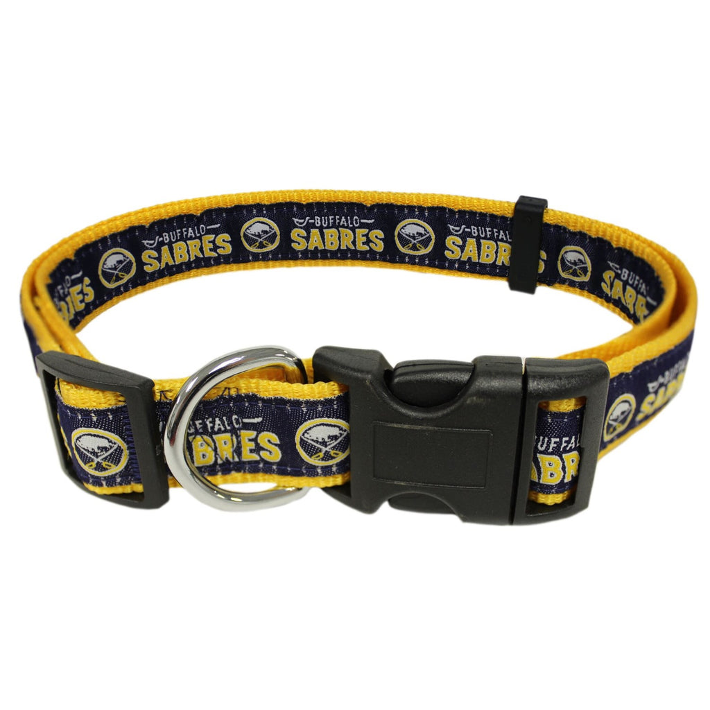 Buffalo Sabres Pet Dog Collar by Pets First