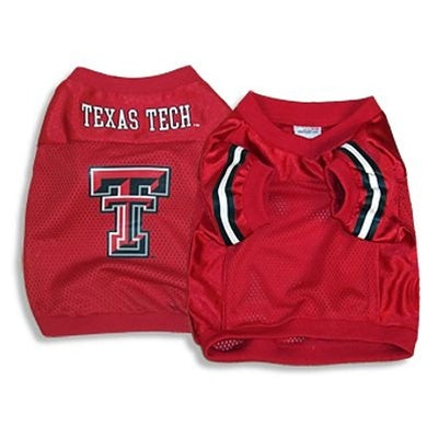 Texas Tech Red Raiders Pet Dog Jersey Alternate Style by SportyK9