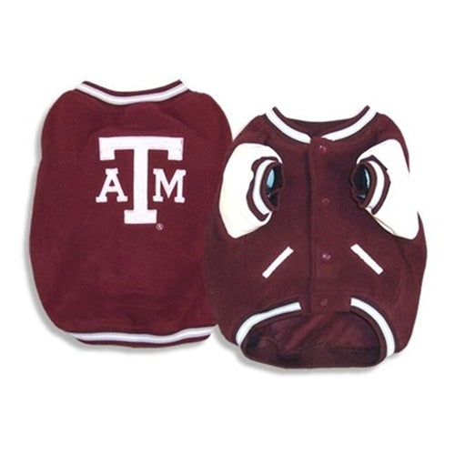 Texas A&M Varsity Pet Dog Jacket by SportyK9