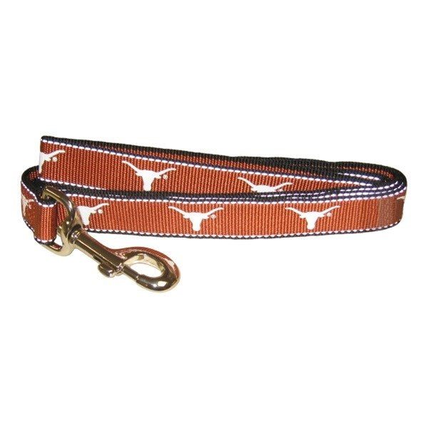 Texas Longhorns Reflective Pet Dog Leash by SportyK9